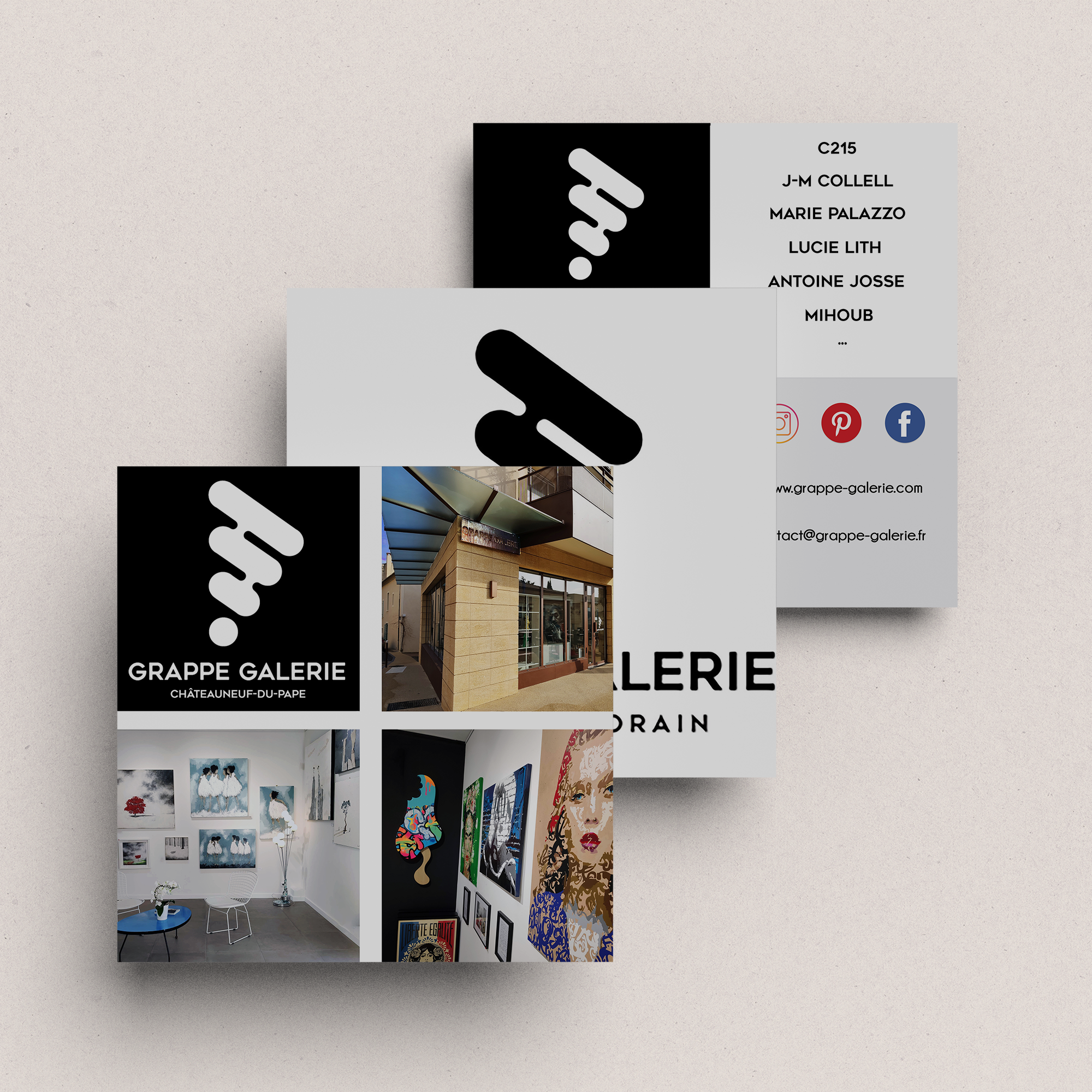 flyer grappe galerie